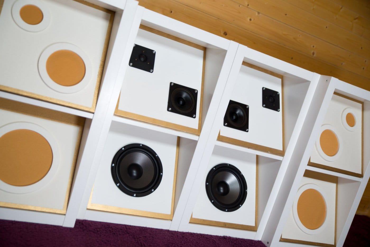Lautsprecher Möbel